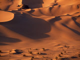 Tenere Desert, Sand Dunes Within the Extinct Caldera of Arakao, Niger Photographic Print by Paul Harris