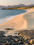 Sunset on Borve Beach, Isle of Harris, Hebrides, Scotland, UK Photographic Print by Nadia Isakova
