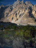 Cathedral Spire Mountains Passu in Northern Pakistan Photographic Print by Antonia Tozer