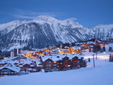 Courchevel 1850 Ski Resort in the Three Valleys, Les Trois Vallees, Savoie, French Alps, France Photographie par Gavin Hellier