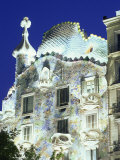 Barcelona, Casa Batllo, Spain Photographic Print by Steve Vidler