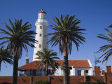 Punta Del Este, Lighthouse, Morning, Uruguay Photographic Print by Walter Bibikow