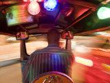 Tuk Tuk or Auto Rickshaw at Night, Bangkok, Thailand Photographic Print by Peter Adams