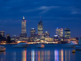 Skyline, Perth, Western Australia, Australia Photographic Print by Peter Adams