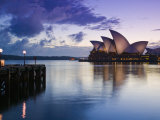 New South Wales, Sydney, Sydney Opera House, Australia Photographic Print by Walter Bibikow
