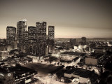 California, Los Angeles, Skyline of Downtown Los Angeles, USA Photographic Print by Michele Falzone