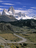 Mount Fitzroy, Patagonia, Argentina Photographic Print by Walter Bibikow