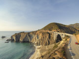 California, Big Sur Pacific Coastline, Bixby Bridge and Highway 1, USA Photographic Print by Michele Falzone