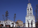 Torre Reloj, a Clocktower in Central Square, Plaza Prat, Adopted as Iquique's Symbol, Chile Photographic Print by John Warburton-lee