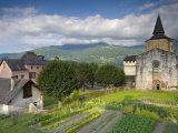 Abbey Church, St-Savin, Midi -Pyrenees, France Photographic Print by Doug Pearson