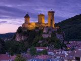 Doug Pearson - Foix Castle, Foix, Ariege, Midi-Pyrenees, France - Fotografik Baskı