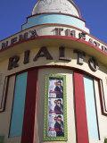 Brightly Coloured Art Deco Cinema-Theatre Rialto on Rue Mohammed Qorri Photographic Print by Julian Love