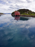 The Traditional Coastal Port of Selsoyvik on Island of Rodoy, Norway Photographic Print by Mark Hannaford