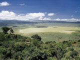 World Famous Ngorongoro Crater, 102-Sq Mile Crater Floor Is Wonderful Wildlife Spectacle, Tanzania Photographic Print by Nigel Pavitt