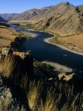 Idaho, Whitewater Rafting on the Snake River in Hells Canyon, USA Photographic Print by Paul Harris