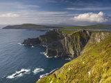 Coastal Cliffs Near Valentia Island, Co Kerry, Ireland Photographic Print by Doug Pearson