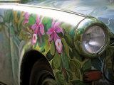 Trabant Car, Berlin, Germany Photographic Print by Walter Bibikow