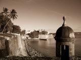 San Juan, Old Town, Paseo Del Morro and La Muralla, Puerto Rico Fotografie-Druck von Michele Falzone