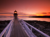Maine, Port Clyde, Marshall Point Lighthouse, USA Photographie par Alan Copson