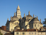 St, Front Cathedral, Perigueux, Dordogne, Aquitaine, France Photographic Print by Doug Pearson