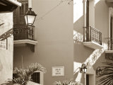 San Juan, Old Town, Colonial Architecture, Puerto Rico Photographic Print by Michele Falzone