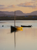 Traditional Galway Hooker, Roundstone Harbour, Connemara, Co, Galway, Ireland Photographic Print by Doug Pearson
