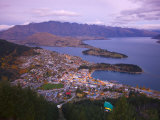 Queenstown, South Island, New Zealand Photographic Print by Doug Pearson