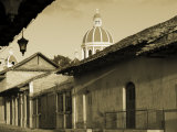 Granada, Cathedral of Granada, Nicaragua Photographic Print by John Coletti