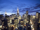 Chrysler Building and Midtown Manhattan Skyline, New York City, USA Photographic Print by Jon Arnold