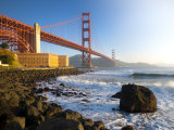 California, San Francisco, Golden Gate Bridge, USA Photographic Print by Alan Copson