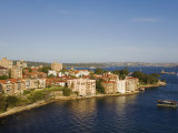 New South Wales, Harbourside Apartments Near Kirribilli Point on North Shore of Sydney, Australia Photographic Print by Andrew Watson