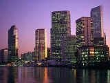Queensland, Brisbane, View of the Business District at Dusk, Australia Photographie par Paul Harris