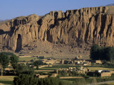 Bamiyan Valley, Showing the Large Buddha, Circa 5th Century, Afghanistan Photographic Print by Antonia Tozer