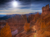 Utah, Bryce Canyon National Park, Navajo Loop Trail, USA Photographic Print by Alan Copson