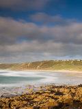 England, Cornwall, Whitesand Bay, Sennen Cove, UK Photographic Print by Alan Copson