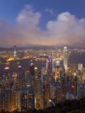Hong Kong, View from Victoria Peak, China Photographic Print by Gavin Hellier