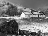 Black Rock Cottage, Glencoe, Scotland, UK Photographic Print by Nadia Isakova