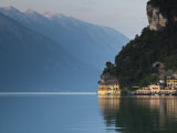 Trentino-Alto Adige, Lake District, Lake Garda, Riva Del Garda, Excelsior Hotel at La Punta, Italy Photographic Print by Walter Bibikow