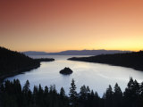 California/Nevada, Lake Tahoe, Emerald Bay, USA Photographic Print by Michele Falzone
