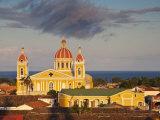 Granada, View of Cathedral De Granada from Iglesia De La Merced, Nicaragua Photographic Print by Jane Sweeney