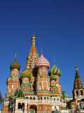 Moscow, Red Square, St Basil's Cathedral, Russia Photographic Print by Nick Laing