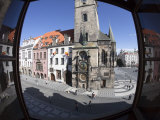 Astronomical Clock, Old Town Hall, Old Town Square, Prague, Czech Republic Photographic Print by Jon Arnold
