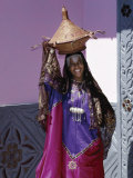 Harerge Province, Harar, an Harari Girl in Wedding Attire, Ethiopia Photographic Print by Nigel Pavitt