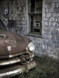 Maine, Potter, Old Gas Station, USA Photographic Print by Alan Copson