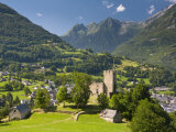 Castle, Luz-Saint-Sauveur, Midi-Pyrenees, France Photographic Print by Doug Pearson
