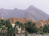 Nakhl Fort Stands in Foothills of Western Hajar Mountains Photographic Print by John Warburton-lee