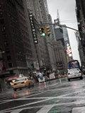 7th Avenue, Manhattan, New York City, USA Photographic Print by Jon Arnold