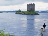 Castle Stalker, Near Portnacroish, Argyll, Scotland Photographic Print by John Warburton-lee