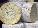 Traditional Cheese for Sale in Borough Market, London Photographic Print by Julian Love