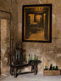Old Bottling Machine Inside a Disused Winery in the Village of Abalos Photographic Print by John Warburton-lee